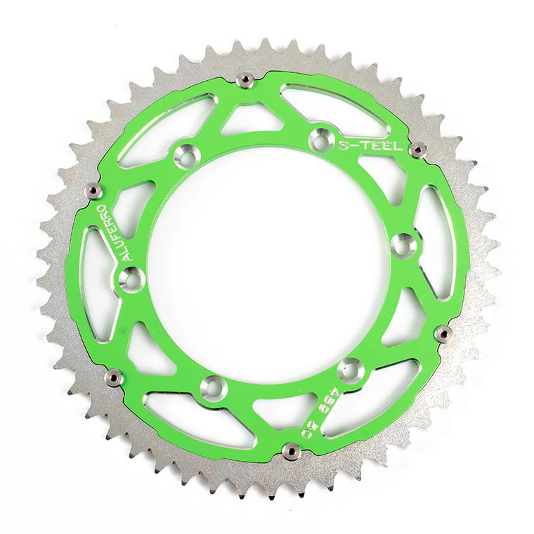 Bi-Metal Sprockets - Green