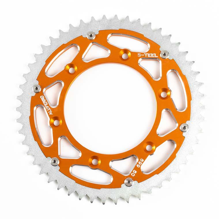 Bi-Metal Sprockets - Orange