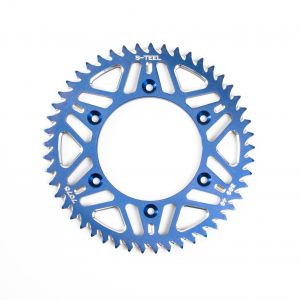 Rear Sprocket Aluminium blue