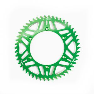 Rear Sprocket Aluminium green