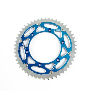 S-TEEL Rear Sprocket 'Alu Ferro' Blue