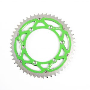 S-TEEL Rear Sprocket 'Alu Ferro'