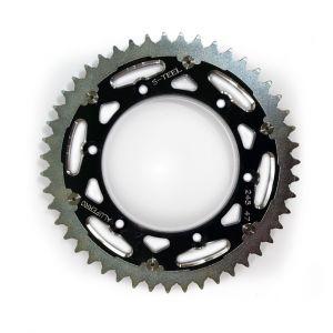 S-TEEL Rear Sprocket 'Alu Ferro' Black